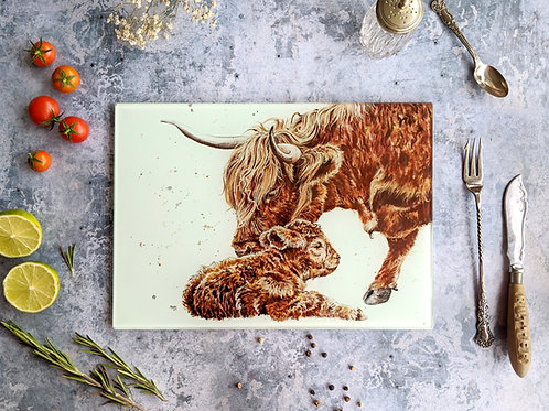 A Gentle Moo Placemat