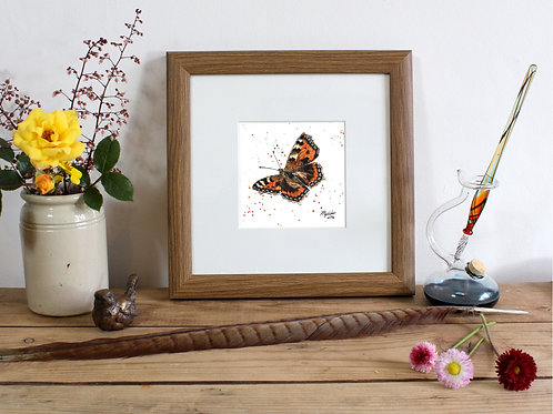 Mini Framed Original 'Madam Butterfly'