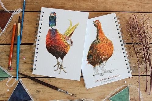 Game Bird Notebook