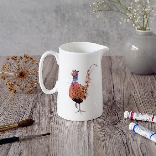 Pheasant Milk Jug