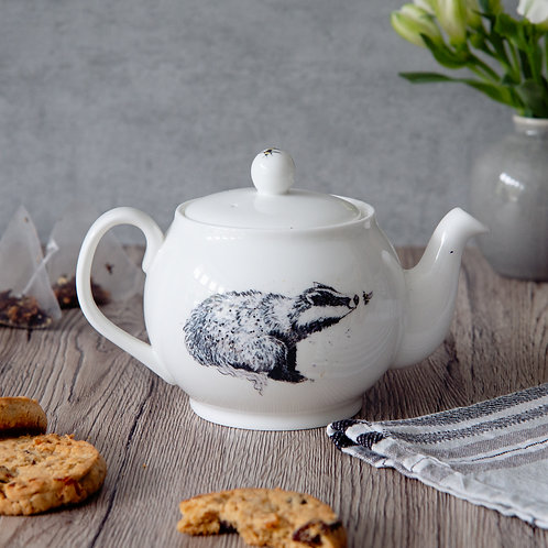 Badger & Bee Mini Teapot