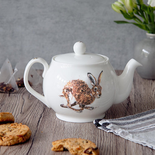 Running Hare Mini Teapot