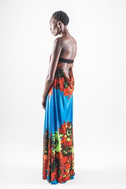 maya dress - back