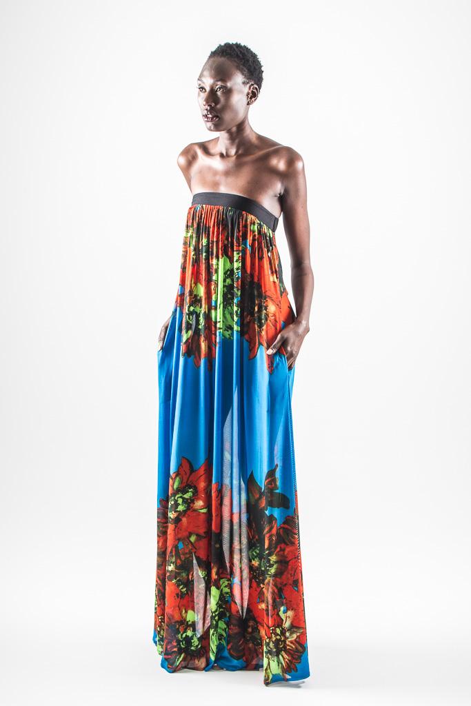 maya dress - front