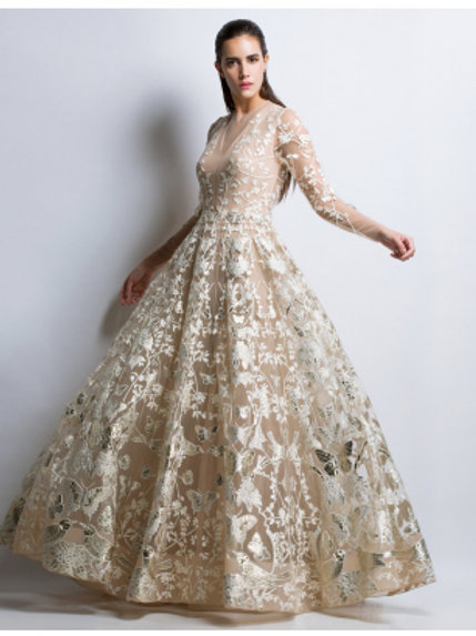 Royal Gold Gown