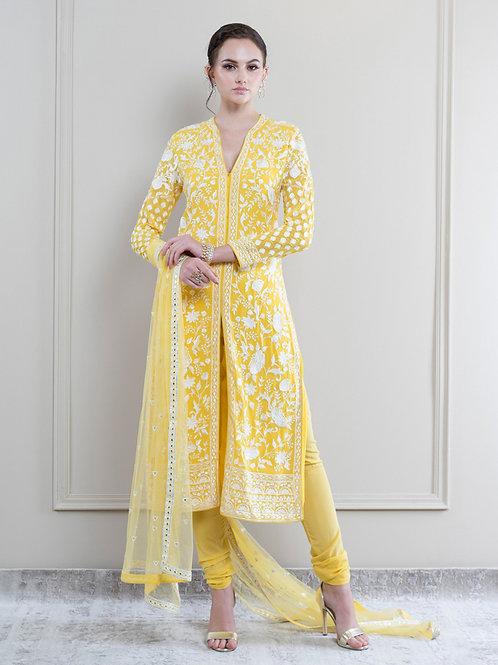 Yellow Salwar Suit