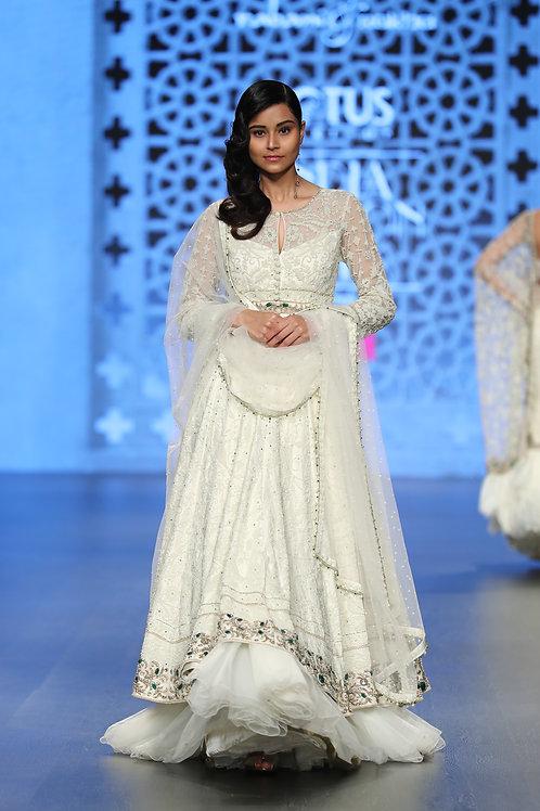 Embroidered Anarkali Dress