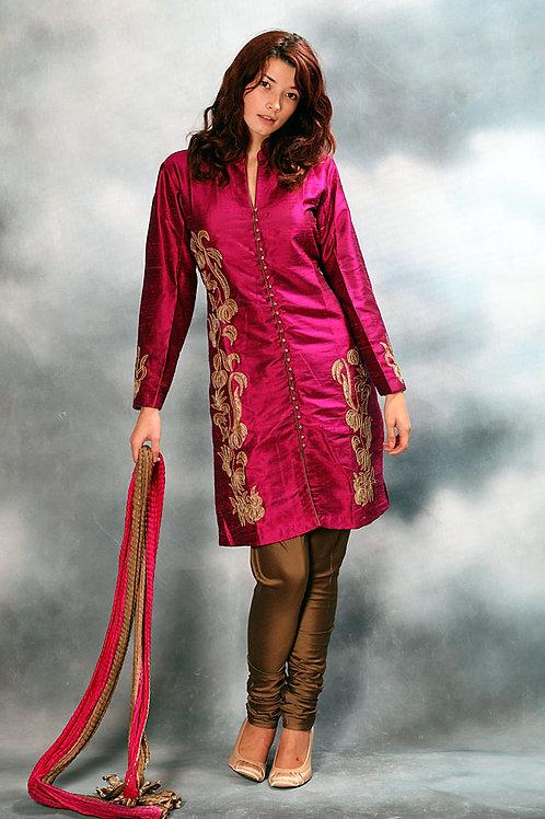 Fuchsia Salwar Suit