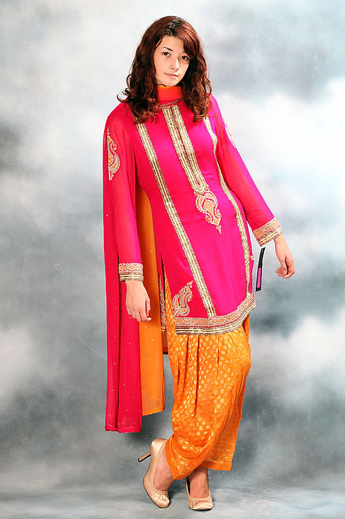 Punjabi Salwar Suit Set