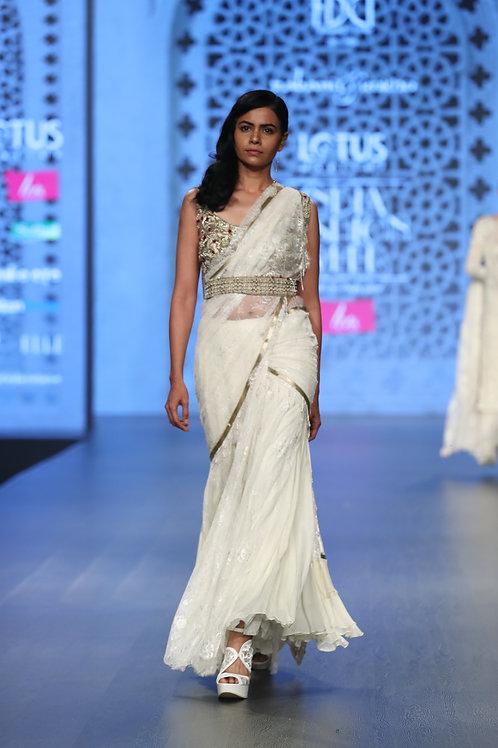 Bejeweled Sari
