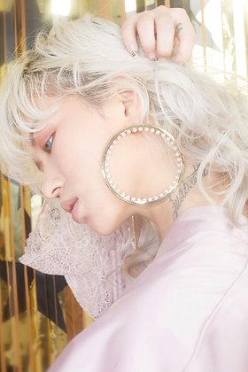Jennifer perle earring (14K Gold)