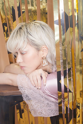 Cara perle earring (14k Gold)