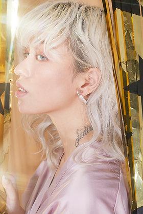 Bella pin earring (925 Silver) - Single piece