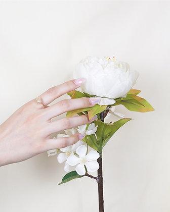 Maris pearl ring (18k gold)