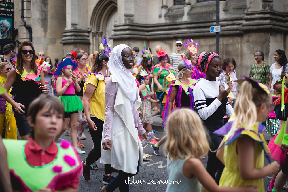 Bath Carnival 2018, pride, LGBT+ rainbow flag, Festival. Super Pirates