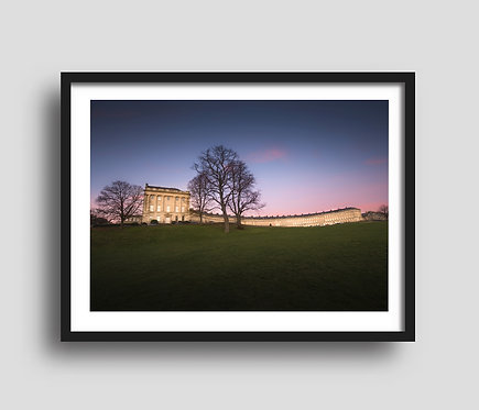 The Royal Crescent at Sunset