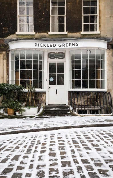 Pickled Greens Snow