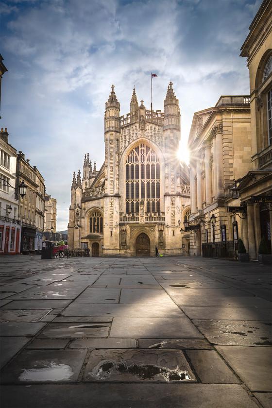 Bath Abbey Sunrise