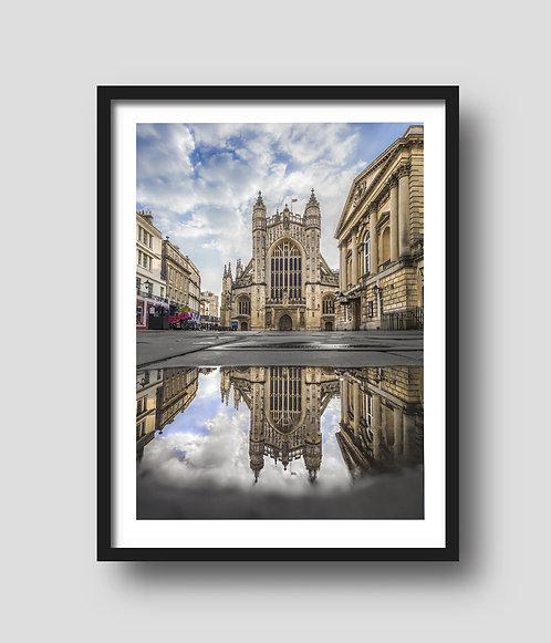 Bath Abbey Reflection