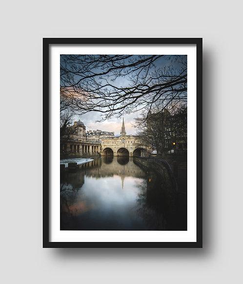 Pulteney Bridge Pink Sunrise