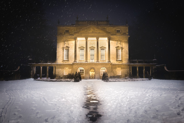 Holburne Museum in Snow