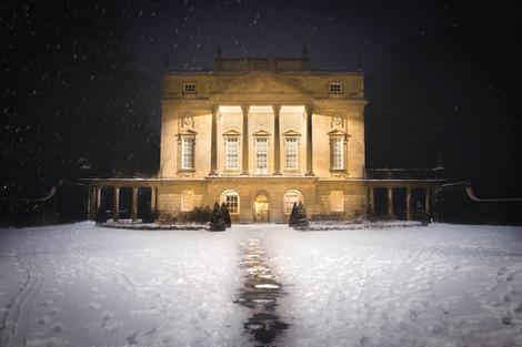 Holburne Museum in Snow