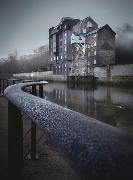 Waterfront House-Frosty Morning