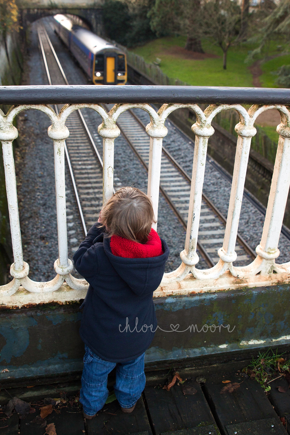 City of Bath, England. Sydney Gardens Train spotting.  Activities for children, summer holidays