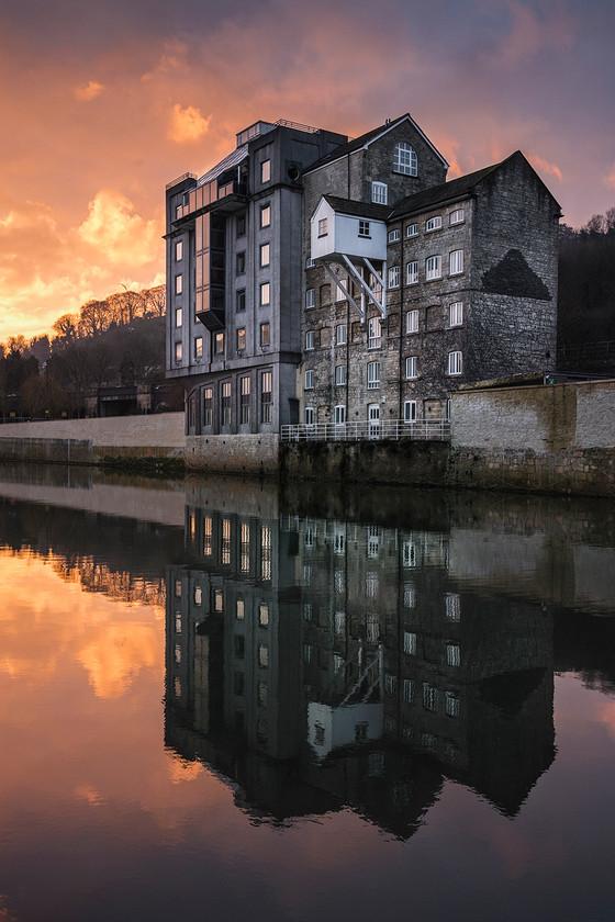 Waterfront House Sunrise