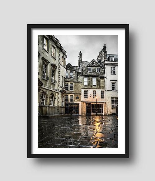 Sally Lunns on a rainy day