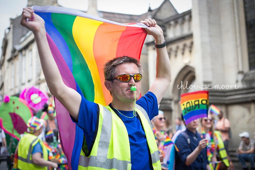 Bath Carnival 2018, pride, LGBT+ rainbow flag, Festival