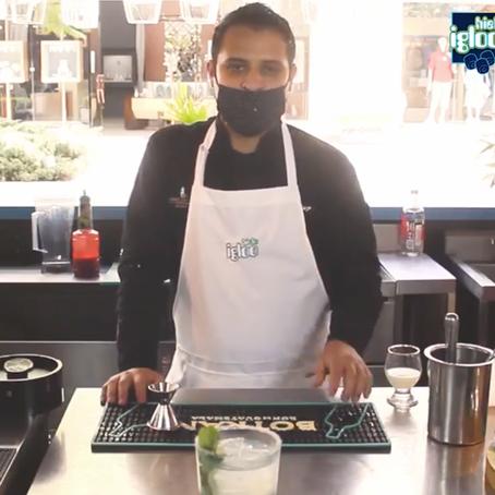 Mojito Cubano Clásico con hielo Igloo
