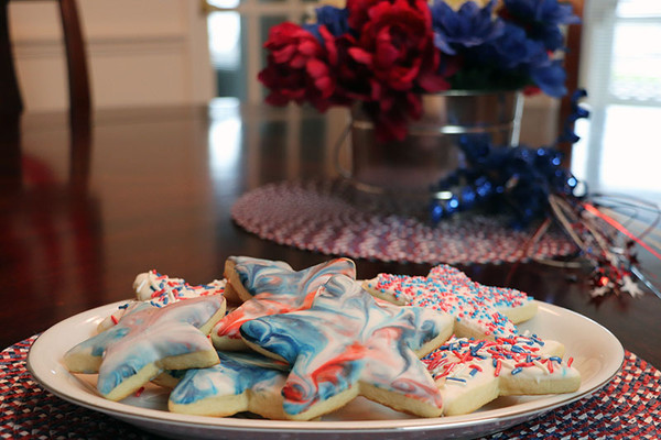 Star-Spangled Sugar Cookies