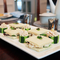 Roast Chicken Salad Tea Sandwiches