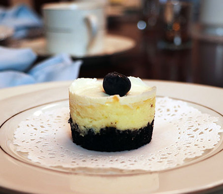 New York Style Petite Cheesecakes