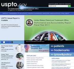 USPTO Webpage