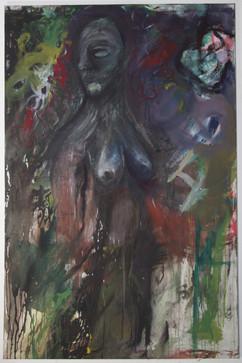 Ajen Emato, 120 x 180 cm, egg tempera on canvas, 2019