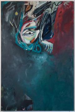 Telebra Varges, 180 x 120 cm, egg tempera on canvas, 2020
