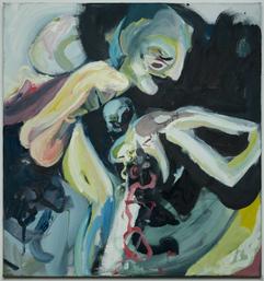 Ikkaruz, 85 x 80 cm, egg tempera on canvas, 2020