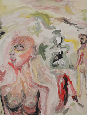 Untitled, 80 x 60 cm, egg tempera on canvas, 2016