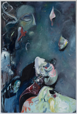 Epeletovia, 180 x 120 cm, egg tempera on canvas, 2021