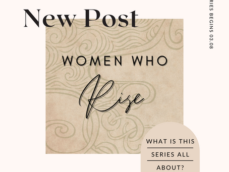 "What is ""Women Who Rise""?"