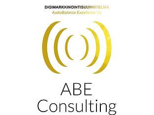ABE Consultin Logo ja Digimarkkinointi strategia