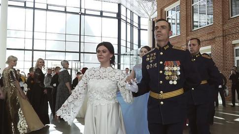 Весенний бал в Тульском суворовском военном училище