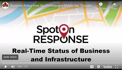 SABER Mobile App Intro Video Screenshot.