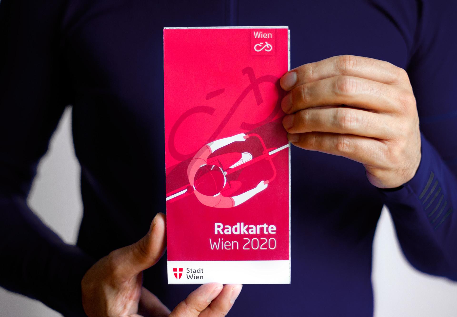 Rad- und Fußwegekarte Wien