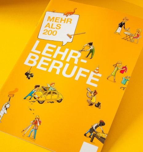 Broschüre – Mehr als 200 Lehrberufe