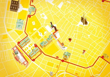 Vienna Sightseeing Tours - Stadtplan