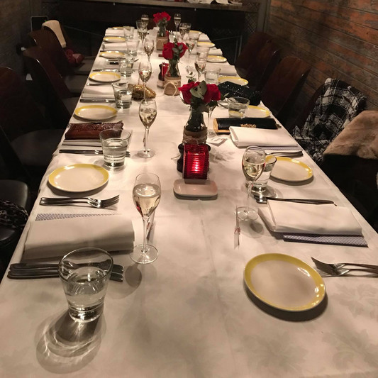Private Dinners
