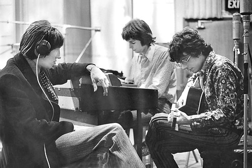 Pink Floyd Recording Abbey Road